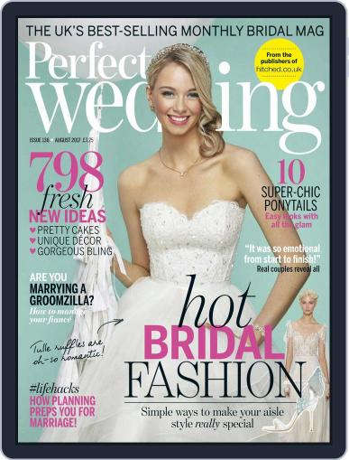 Perfect Wedding (Digital) August 1st, 2017 Issue Cover