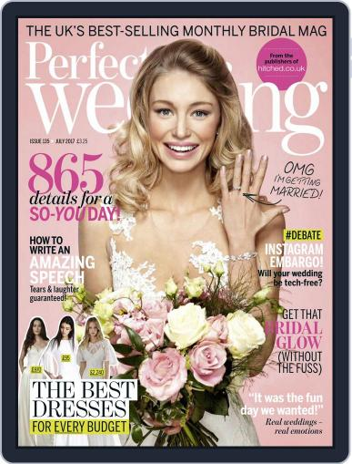 Perfect Wedding (Digital) July 1st, 2017 Issue Cover
