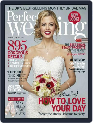 Perfect Wedding (Digital) June 1st, 2017 Issue Cover