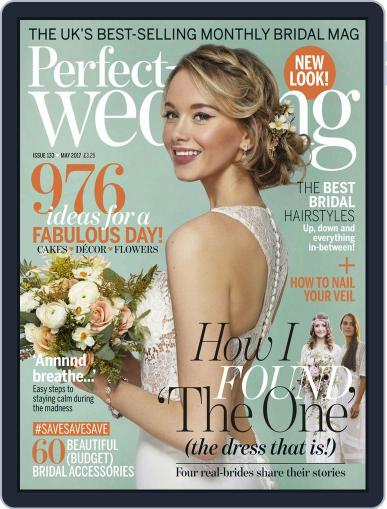 Perfect Wedding (Digital) May 1st, 2017 Issue Cover