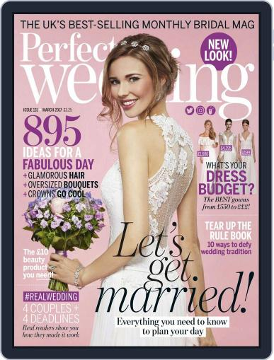 Perfect Wedding (Digital) March 1st, 2017 Issue Cover