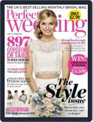 Perfect Wedding (Digital) Subscription November 1st, 2015 Issue