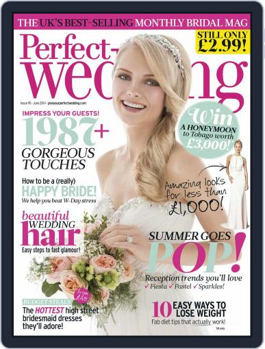 Perfect Wedding (Digital) May 13th, 2014 Issue Cover