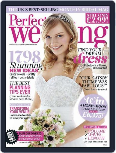Perfect Wedding (Digital) April 15th, 2014 Issue Cover