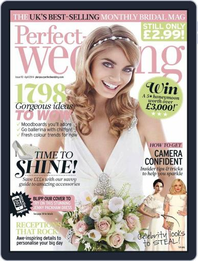 Perfect Wedding (Digital) March 18th, 2014 Issue Cover