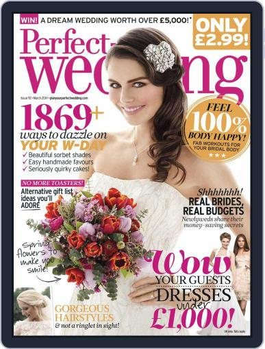 Perfect Wedding (Digital) February 24th, 2014 Issue Cover