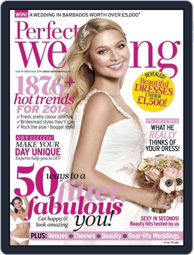 Perfect Wedding (Digital) January 21st, 2014 Issue Cover