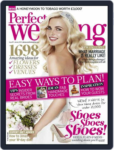 Perfect Wedding (Digital) November 26th, 2013 Issue Cover