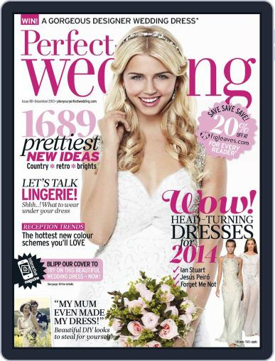 Perfect Wedding (Digital) October 31st, 2013 Issue Cover