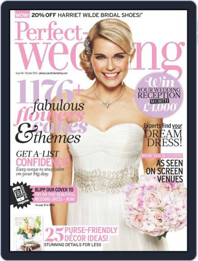 Perfect Wedding (Digital) September 4th, 2013 Issue Cover