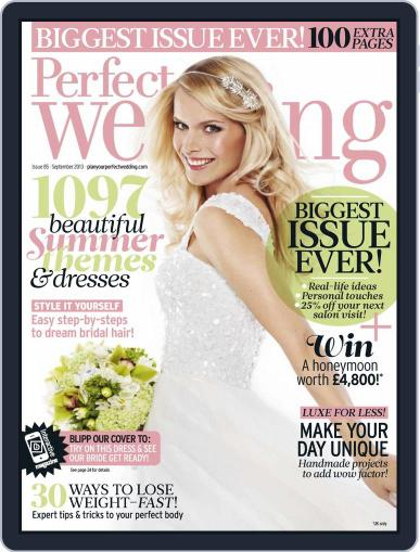 Perfect Wedding (Digital) August 7th, 2013 Issue Cover