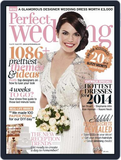 Perfect Wedding (Digital) July 10th, 2013 Issue Cover
