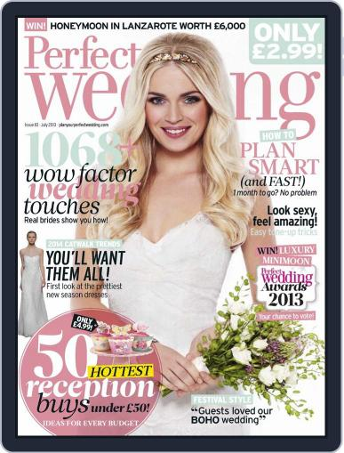 Perfect Wedding (Digital) June 13th, 2013 Issue Cover