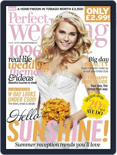 Perfect Wedding (Digital) May 30th, 2013 Issue Cover