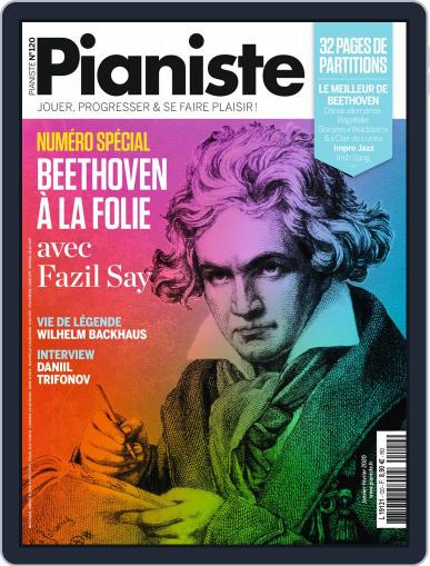 Pianiste (Digital) January 1st, 2020 Issue Cover