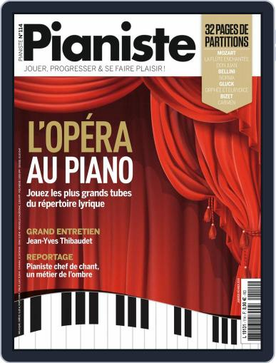 Pianiste (Digital) January 1st, 2019 Issue Cover