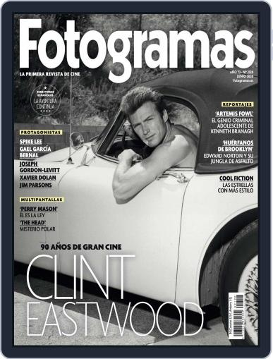 Fotogramas June 1st, 2020 Digital Back Issue Cover