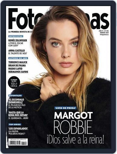 Fotogramas February 1st, 2020 Digital Back Issue Cover
