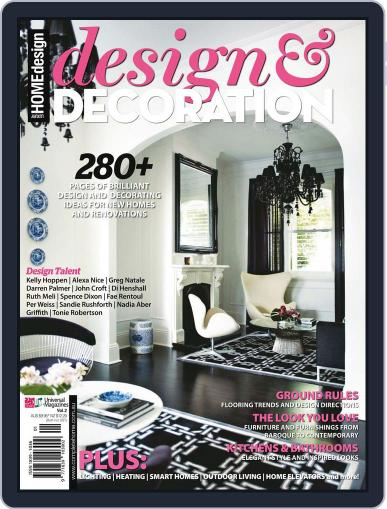 Design And Decoration October 1st, 2011 Digital Back Issue Cover