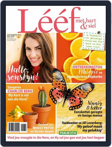 Lééf (Digital) November 1st, 2016 Issue Cover