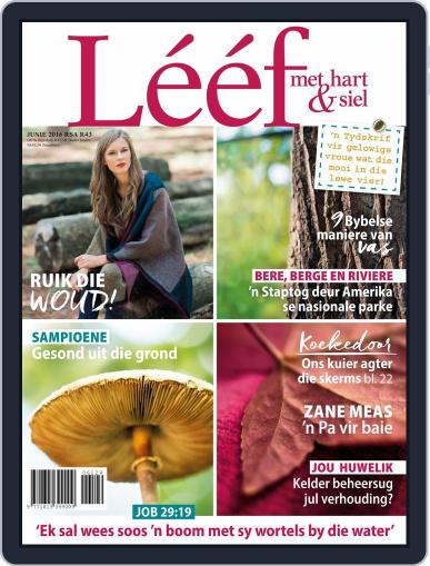 Lééf (Digital) May 16th, 2016 Issue Cover