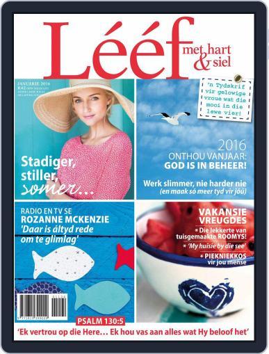 Lééf (Digital) January 1st, 2016 Issue Cover
