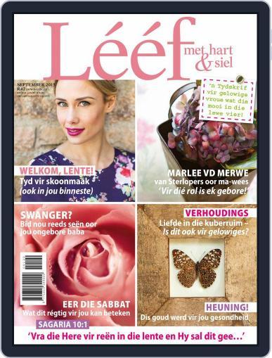 Lééf (Digital) September 1st, 2015 Issue Cover
