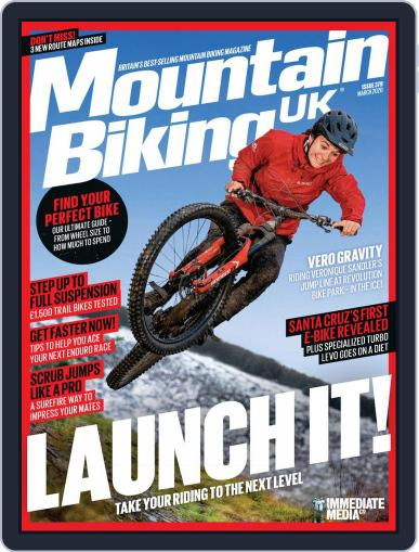 Mountain Biking UK March 1st, 2020 Digital Back Issue Cover