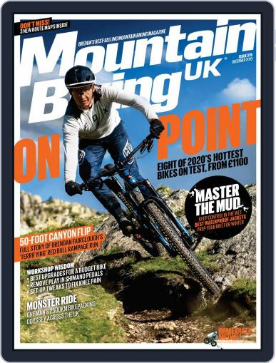 Mountain Biking UK December 1st, 2019 Digital Back Issue Cover