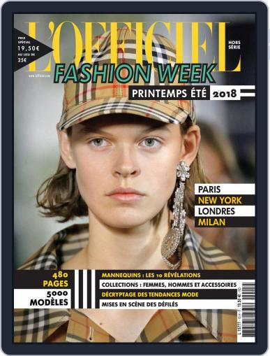 Fashion Week January 1st, 2018 Digital Back Issue Cover