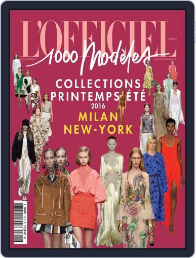 Fashion Week September 1st, 2015 Digital Back Issue Cover