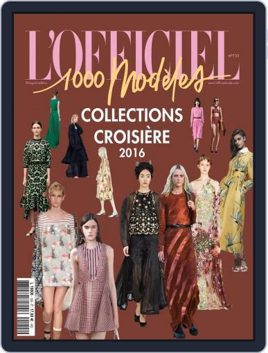 Fashion Week July 1st, 2015 Digital Back Issue Cover