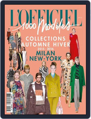 Fashion Week April 8th, 2015 Digital Back Issue Cover
