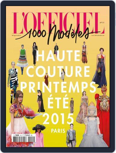 Fashion Week March 11th, 2015 Digital Back Issue Cover