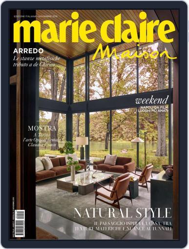 Marie Claire Maison Italia November 1st, 2019 Digital Back Issue Cover