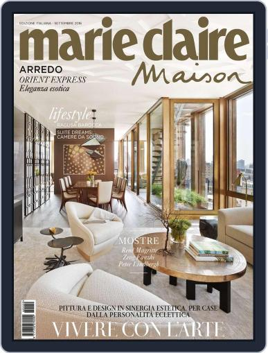 Marie Claire Maison Italia September 1st, 2016 Digital Back Issue Cover