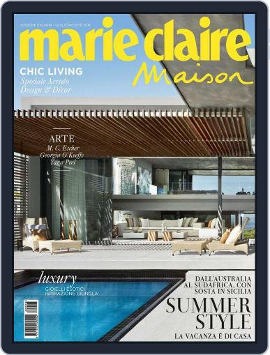 Marie Claire Maison Italia July 15th, 2016 Digital Back Issue Cover