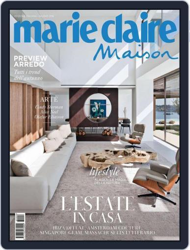 Marie Claire Maison Italia June 10th, 2016 Digital Back Issue Cover