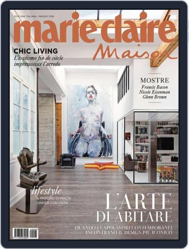 Marie Claire Maison Italia May 16th, 2016 Digital Back Issue Cover
