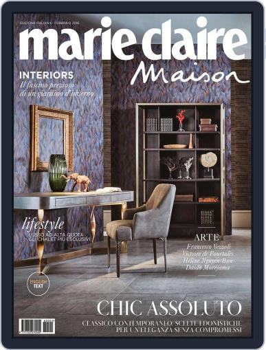 Marie Claire Maison Italia January 20th, 2016 Digital Back Issue Cover