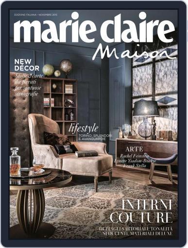 Marie Claire Maison Italia November 1st, 2015 Digital Back Issue Cover