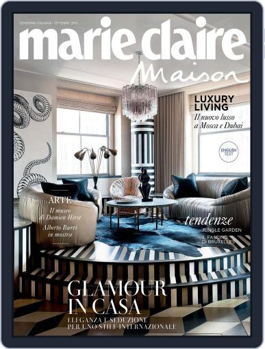 Marie Claire Maison Italia September 25th, 2015 Digital Back Issue Cover