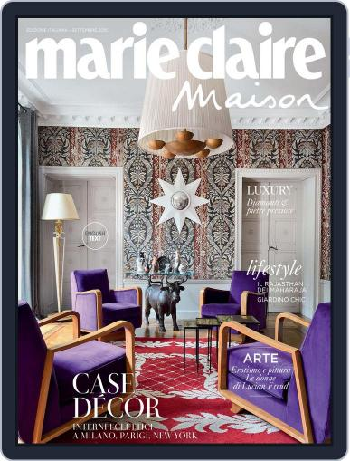 Marie Claire Maison Italia August 27th, 2015 Digital Back Issue Cover