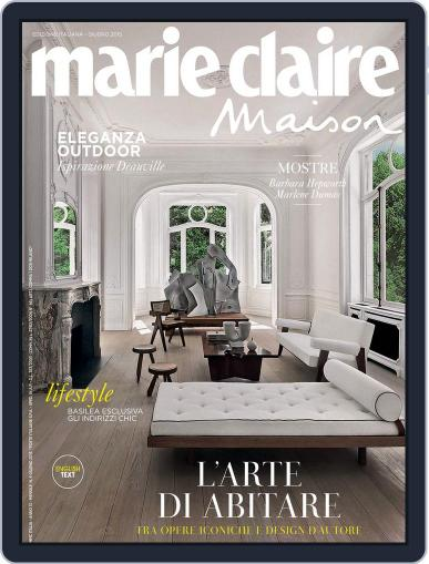 Marie Claire Maison Italia June 1st, 2015 Digital Back Issue Cover