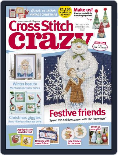Cross Stitch Crazy (Digital) December 1st, 2019 Issue Cover