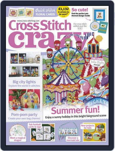 Cross Stitch Crazy (Digital) August 1st, 2019 Issue Cover