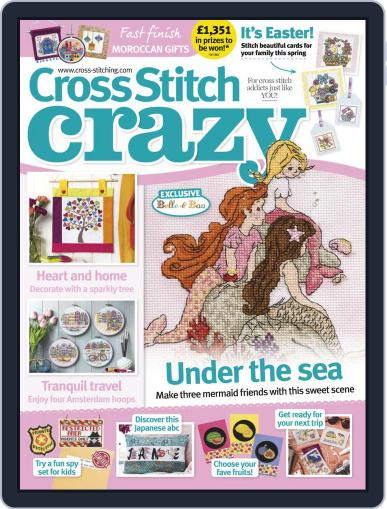 Cross Stitch Crazy (Digital) May 1st, 2019 Issue Cover