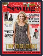 Simply Sewing (Digital) Subscription November 1st, 2019 Issue