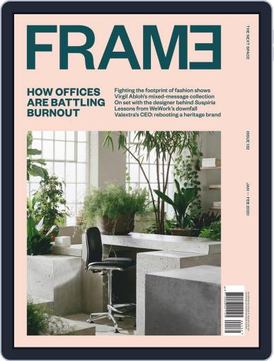 Frame (Digital) January 1st, 2020 Issue Cover