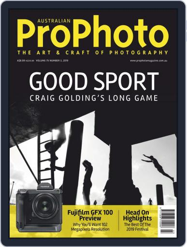 Pro Photo (Digital) August 1st, 2019 Issue Cover